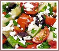 healthy salad recipe greek