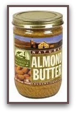 food substitutions almond butter