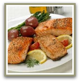 fish oil benefits salmon dinner