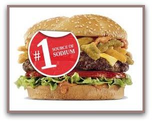 foods to avoid sodium