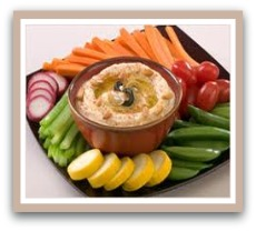 healthy food snacks hummus