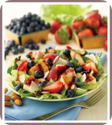 healthy salad recipe chicken berry