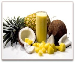 halthy smoothies pineapple