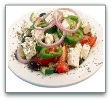 healthy salad recipes greek