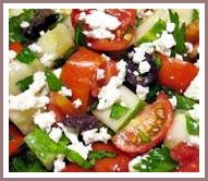 healthy salad recipe greek