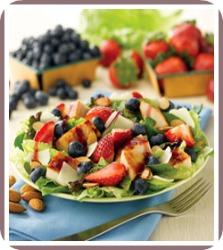 healthy salad recipe chicken berry