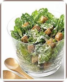 healthy salad recipe caesar