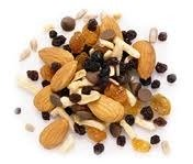 healthy food snacks trail mix