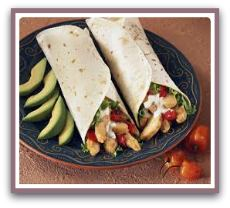 healthy lunch wraps